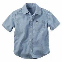 Woven Organic Cotton Slub Chambra Shirt