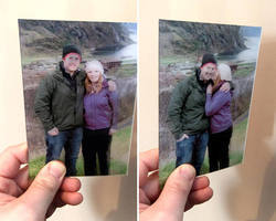 Personalised 3D Lenticular Photo (Gifting)