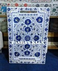 Exclusive Marble Inlay Tray