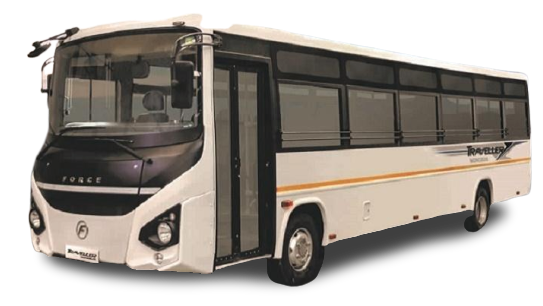 Force Traveller Monobus 33 Seater Non-AC Staff Bus, 4020