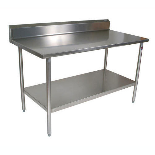 Silver Stainless Steel Tables For Restaurants Rs Running Feet - 4 foot stainless steel table