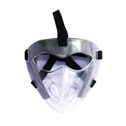 Transparent Plastic Hockey Face Mask, Packaging Type: Box