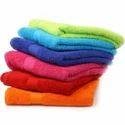 Multicolor Plain 100% Cotton Terry Hand Towel, Weight: 200 Grams, Size: 50 X 100 Cm