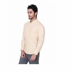 UB-SHI-03 Beige Uniform Shirt For Men