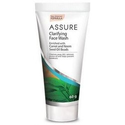 Assure Clarifying Face Wash, Packaging Size: 60 Gram