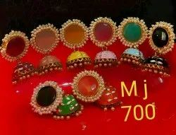 Meenakari jhumka Earring party wear