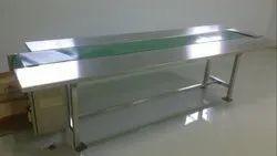 Stainless Steel Packing Belt Conveyor
