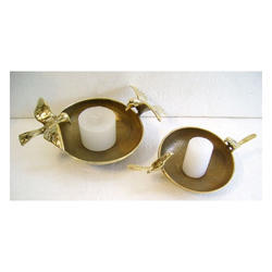 Brass Bird Bowls