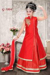 Girls Red Lehenga