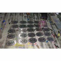 Room Number Plate