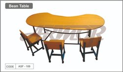 Bean Table With Chairs