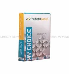 Trident White My Choice Paper, Size: A-4