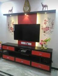 Ply Wall Mounted T.V UNIT, For Home, Warranty: 5 Years