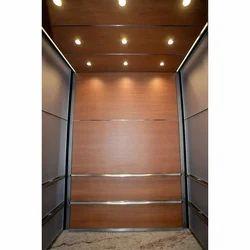 Wooden Design Elevators Cabin, For Industrial Premises