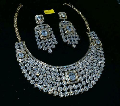 5bc75cea7 American Diamond Jewellery Set at Rs 6200  set