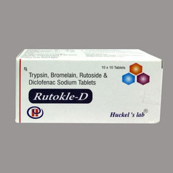Trypsin Bromelain Rutoside And Diclofenac Sodium Tablets