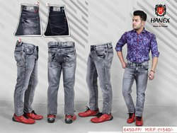 Hanex Grey Premium Denim Jeans
