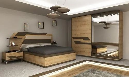 Bungalow Interior Guest Bedroom Interior Design Work Provided Wood Work Furniture Id 21245110033