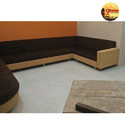 Plain Modern U Shaped Sofa Set