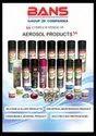 INDUSTRIAL USE AEROSOL SPRAY manufacturer