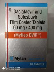 Daclatasvir And Sofosbuvir Film Coated Tablets