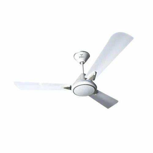 Silky White Oracle 1200 mm Ceiling Fan, Warranty: 2 Year