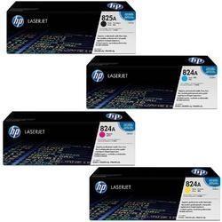 HP 824A Full Set Of  Toner Cartridge