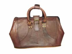 Vintage Leather Woman''s Hand Bag