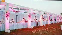 Flower decoration Buffer Stall Decoration, Varanasi UP