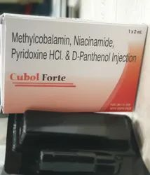 Methylcobalamin, Niacinamide, Pyridoxine HCl. and D-Panthenol Injection