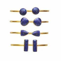 Lapis Lazuli Adjustable Bangle