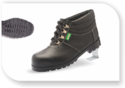 Heat Resistance High Ankle Nitrile Rubber Safety Shoes