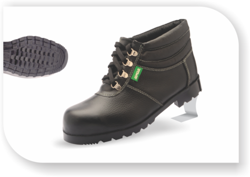 009d3a09712 Heat Resistance High Ankle Nitrile Rubber Safety Shoes, Available ...