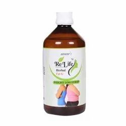 Anwar's Relife Fat G Herbal Weight Loss Syrup, Packaging Size: 500 mL