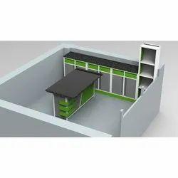 Mdf Board, Mild Steel Modular Office Furniture