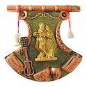Lord Radha Krishna Wall Hanging Statue Decorative Gift Item