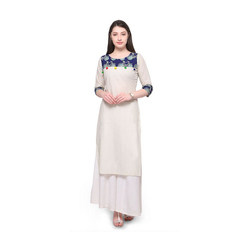 Simple Cycle Printed Kurti