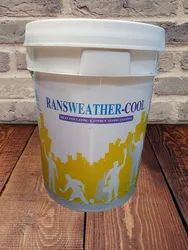 Milky White Liquid Ransweather-Cool Heat Insulation And Energy Saving Coating