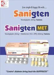 Teneligliptin 20 Mg Tablets