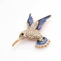 Kidofash Bird Design Lapel Pin Brooch