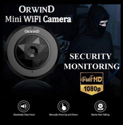 Digital Day & Night Vision Micro Security Wifi Pinhole CCTV Camera