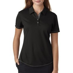 Loops Black Women T-Shirt