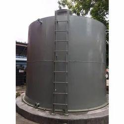Stainless Steel Storage Tank, Capacity: 25000 L