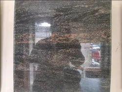 Black Granite Slabs, Size: 8 X 3 Feet, Thickness: 17-18 mm