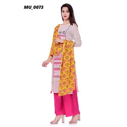 Rayon Fancy Ladies Kurti