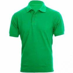 Cotton Men' S Collar T-Shirt