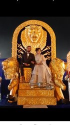 Bride Groom Lion Entry