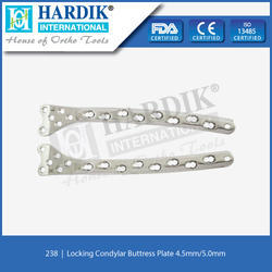 Locking Condylar Buttress Plate 4.5mm/5.0mm