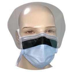 Antifogging Visor Mask / 4 Ply Facemask With Visor