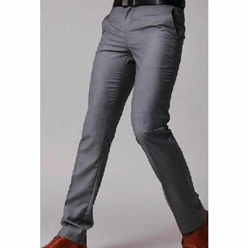 ascoltatore Slovenia modulo  All Size Gray Men Slim Fit Trouser, Rs 699 /piece Global Shades Apparels  Inc | ID: 16478274355